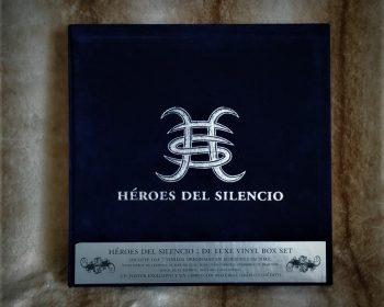 Caja de terciopelo edición limitada con vinilos de Héroes del Silencio