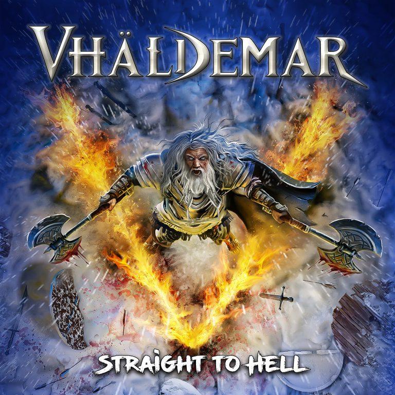 Vhaldemar - Straight to Hell 12x12cm