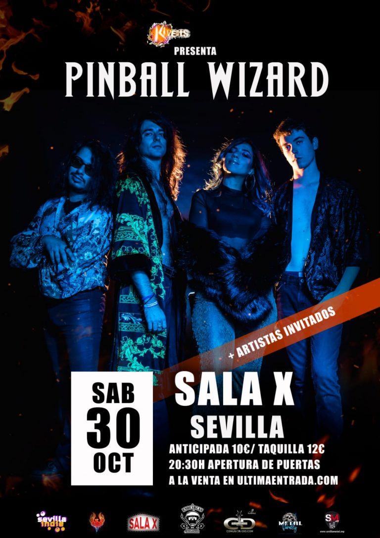 Pinball Wizard cartel Sevilla
